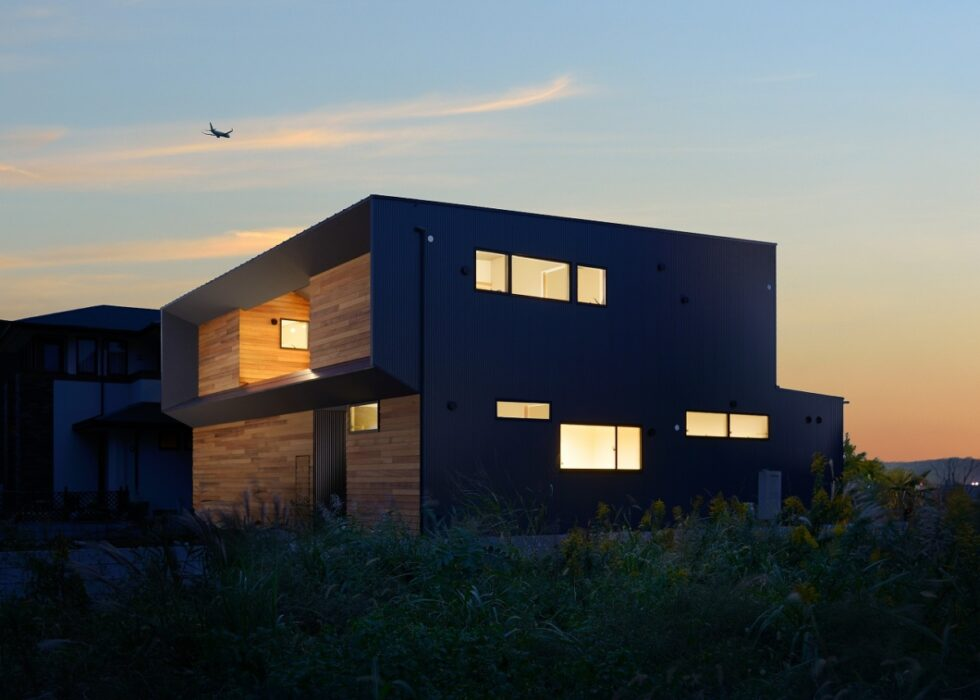 景趣の二世帯住宅
