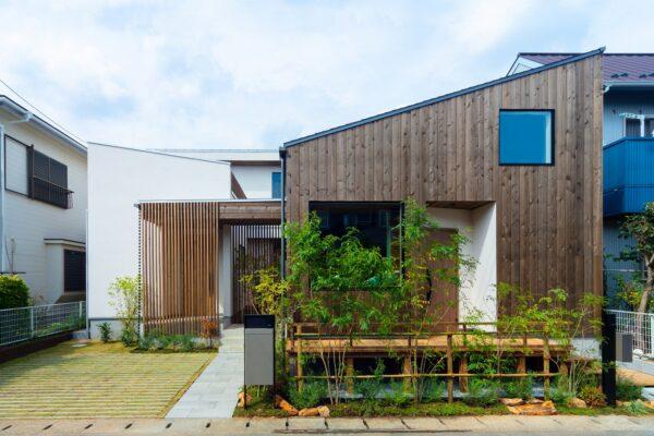 柏の葉の二世帯住宅